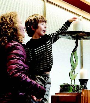 lighting the chalice